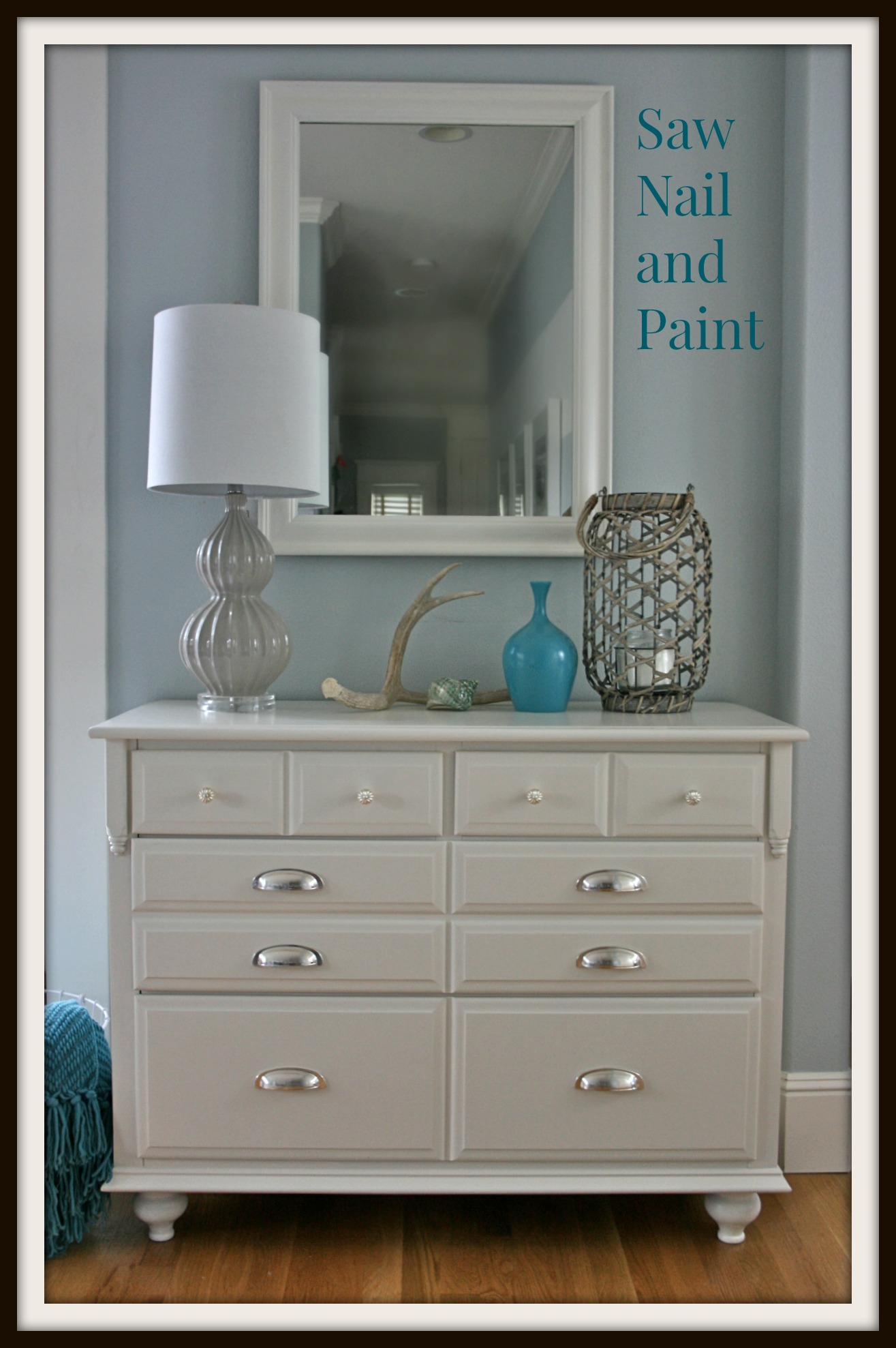 Traditional Maple Dresser Makeover Tutorial On Adding